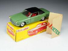 SOLIDO-DALIA - 30 / 133 - Fiat 2300 S Ghia - Rare Vert olive intérieur rouge