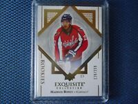 2017-18 EXQUISITE HOCKEY MADISON BOWEY ROOKIE 128/299 CAPITALS R-MB