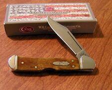 Case Xx New Antique Smooth Bone Handle 1 Blade Mini Copperlock Knife/Knives