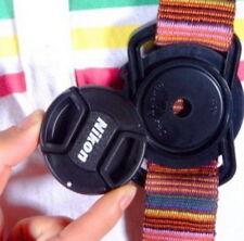 Nuevo soporte de tapa de lente de cámara de hebilla de la tapa 55mm 52mm 43mm