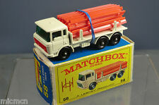 MATCHBOX  LESNEY MODEL No.58c        DAF GIRDER TRUCK                    MIB