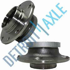 Set of (2) New FRONT Wheel Hub and Bearing Assembly for BMW Models w/ ABS