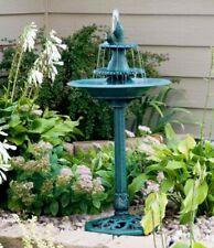 3 Tier Outdoor Water Fountain Bird Bath Garden Patio Yard Decor Bowl Waterfall