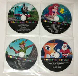 Collection of Childrens Stories, Kids Fairytale Audiobooks 4 x CD Audio Discs