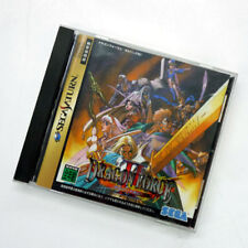 DRAGON FORCE II 2 Sega Saturn Video Game Japan Japanese