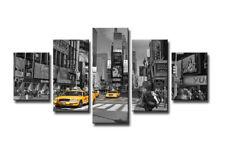 Bild 5 tlg New York Bild visario MarkenLeinwand 160x80cm XXL Bilder Nr 5580 _