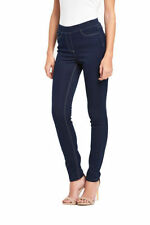 Denim High Rise Plus Size Jeans Jeggings, Stretch for Women