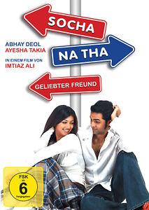 SOCHA NA THA / GELIEBTER FREUND  Bollywood DVD von Imtiaz Ali