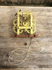 American Birge & Fuller Weight Driven Shelf Clock Movement