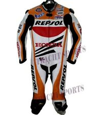 Honda Repsol Rapidi Moto Motorbike Leather Racing Suit Motogp All Size