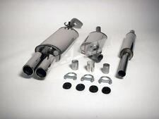 Jetex VW Jetta MK5 1.4L 2.0L TFSi 05-10 Stainless Steel Cat Back Exhaust