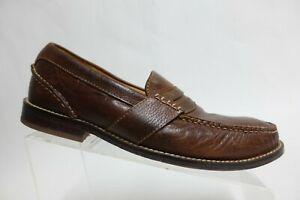 SPERRY TOP-SIDER Gold Cup Brown Sz 9.5 M Men Leather Penny Loafers