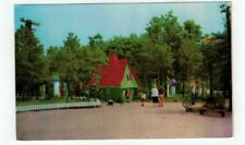 NJ Neptune New Jersey vintage post card Storyland Village Crooked House