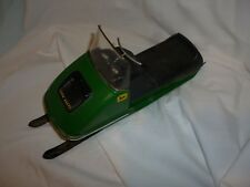 Vintage John Deere Snowmobile Battery Operated Toy Rare! Normatt Toys USA