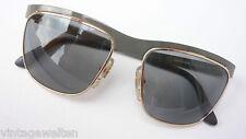 Esprit ausgefallene Sonnenbrille Metall für Damen oliv gold elegant Neu size M