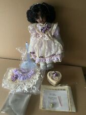 Antique Reproduction Tete Jumeau Patricia Loveless Black Afric 00004000 An Porcelain Doll