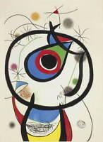 Joan Miro Galathee Giclee Art Paper Print Paintings Poster Reproduction