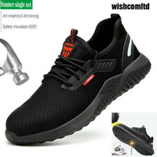Mens Safety Boots Steel Toe Cap Work Boots Non-Slip Hiker Shoes Size [ UK 3-12]