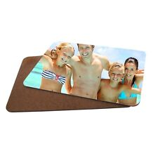 Personalised Photo MDF Hard Backed Placemat 20cm X 28cm X 1