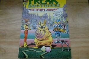 The Fabulous Furry Freak Brothers # 9 Idiots Abroad Pt2 Skelton & Mavrides 1985