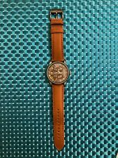 Fossil Men's Watch ME-1098 Automatic Self-Winding w/ Genuine Leather Strap