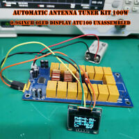 DIY Kits 1.8-50MHz ATU-100mini Automatic Antenna Tuner by N7DDC 7x7 +OLED 1PCS