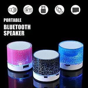 Portable Mini Speaker Bluetooth Led Light for Android Windows Phone iPhone iPad