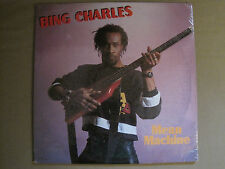 "BING CHARLES MEAN MACHINE 12"" OG MEGA RARE SYNTH FUNK REGGAE DUB MYSTIC SEALED!"