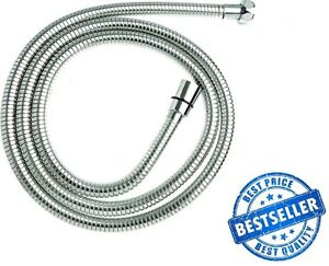 2M DURAHOSE Chrome Stainless Steel Shower Hose Triton Mira Replacement