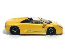 Maisto Playerz Luxury Lamborghini Murcielago Roadster Yellow Die Cast 1/64 Loose