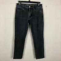American Eagle Outfitters Men's Extreme Flex Slim Jeans Size 26X28 Black DL3