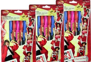 Disney High School Musical 3 Senior Year Stick Pens 5 to 3 Pack Total 15 Pens