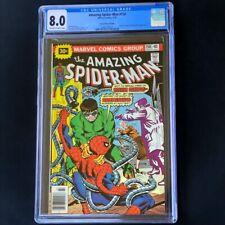 Amazing Spider-Man #158 (1976) 💥 CGC 8.0 💥 30 CENT PRICE VARIANT - RARE! Comic