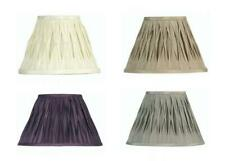 Clip On 5in Pinched Pleat Wall Light Lamp Shade Faux Silk Chandelier Lampshade