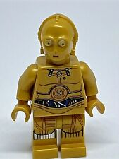 LEGO Star Wars C-3PO minifigure - colourful wires printed legs - sw0700
