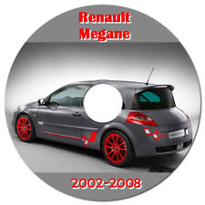 RENAULT MEGANE 2002-2008 WORKSHOP SERVICE REPAIR MANUAL ON CD OR DOWNLOAD