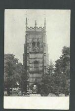 Ca 1906 PPC Evesham Bell Tower England Mint UDB