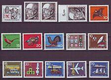 Bund Jahrgang 1965 komplett außer Satz 485-488 postfrisch