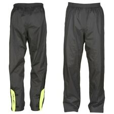 FURYGAN RAIN PANT Motorcycle/Scooter Waterproof over Trousers Black/Yellow