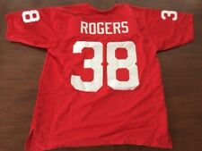 GEORGE ROGERS SOUTH CAROLINA GAMECOCKS XL RED HOME JERSEY