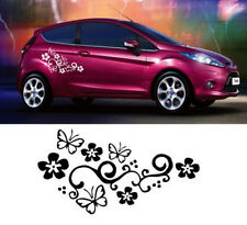 Decor Graphics Decal Butterfly Car window decoration Flower Sticker Vinyl