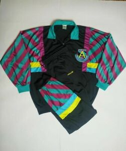 Retro Vintage 80s 90s Adidas Champion Track Suit Jacket & Pants Rare Size XL
