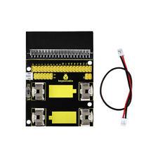 Keyestudio 170mm Power Supply Shield Expansion Board Black for Micro Bit