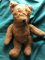 Antique Jointed Stuffed Bear