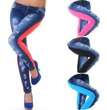 L32 Damen-Jeans sehr niedrige Bundhöhe Normalgröße