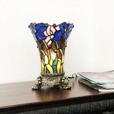 Chloe Lighting Tiffany Style 1 Light Antique Brass Table Lamp CH1T194BF11-TL1