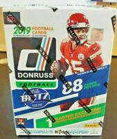 2019 Panini Donruss Football FACTORY SEALED Blaster Box 11 Packs 8 Cards /Pack
