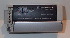 Allen Bradley 1790D-T16BV0 Compact Block LDX DeviceNet