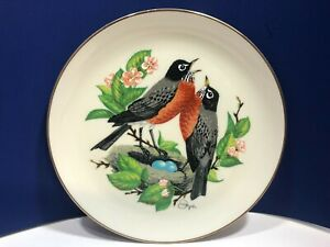 VTG Voices of Spring Gunther Granget's Four Seasons Charter Edition Plate  1978