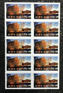 2021USA Forever Missouri Statehood - Block of 10 From Sheet  mint postage barn